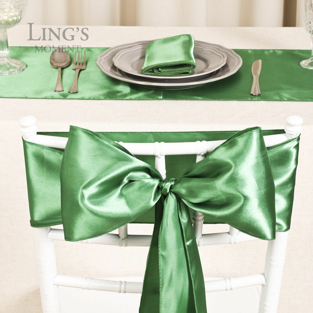 Chair Cover Sashes 12 X108 Table Runner Wedding Party De