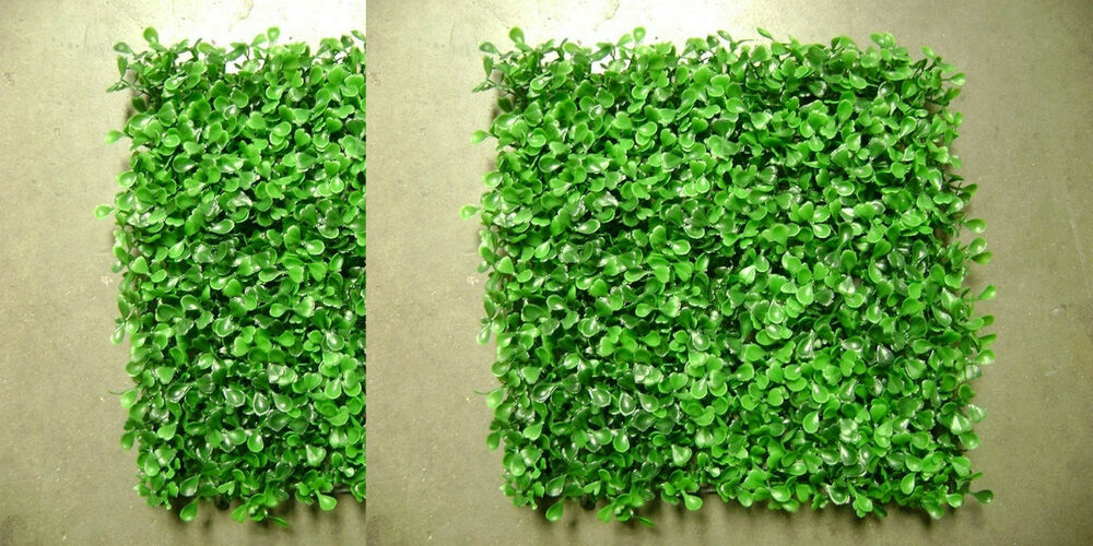 12 Artificial In Outdoor Uv Boxwood Mat Wall Patio Hedge