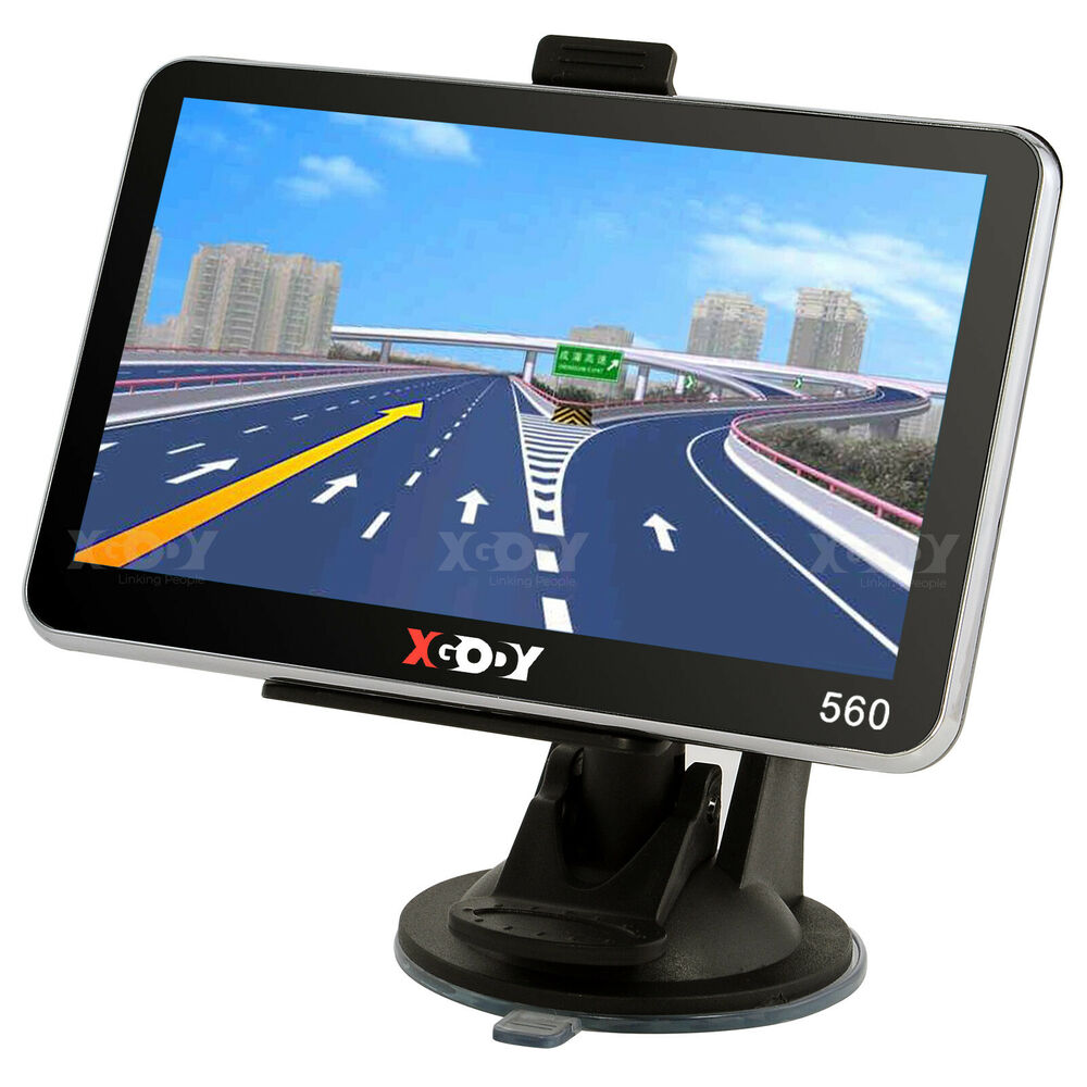 xgody 5 39 39 truck car navigation gps navigator sat nav 8gb all us map speedcam poi ebay. Black Bedroom Furniture Sets. Home Design Ideas