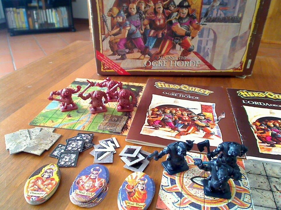 heroquest contents list