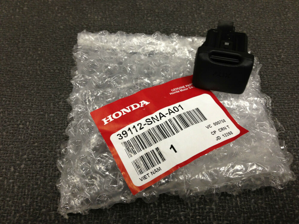 Auxiliary Jack For Car: Genuine OEM Honda Civic Auxiliary Jack Aux In Jack 2006