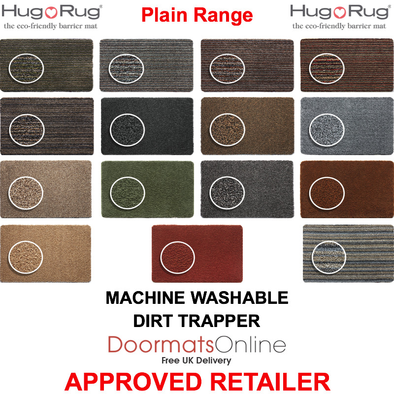 Hug Rug Dirt Trapper Door Floor Mat Machine Washable