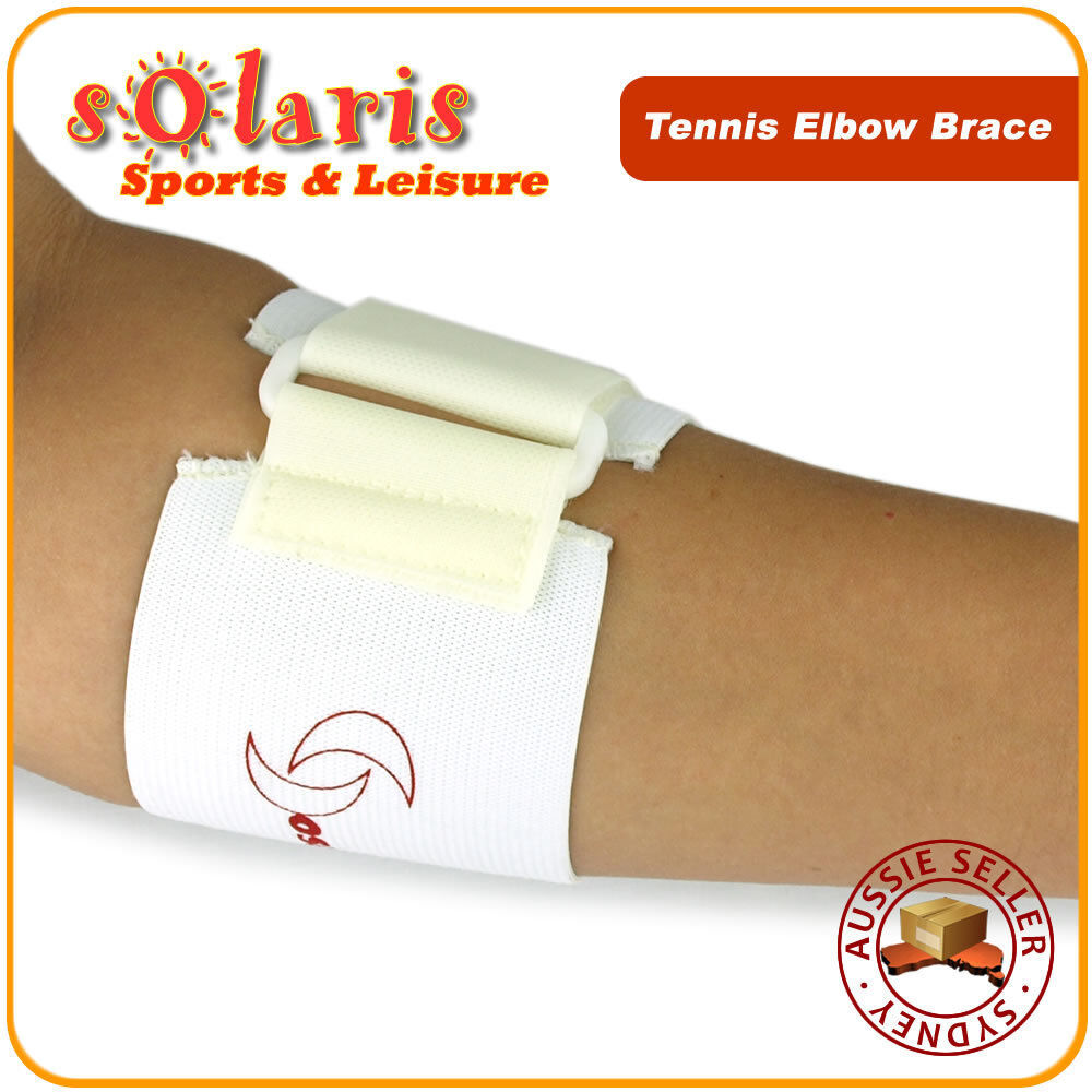 how to wear a strap for tennis elbow
