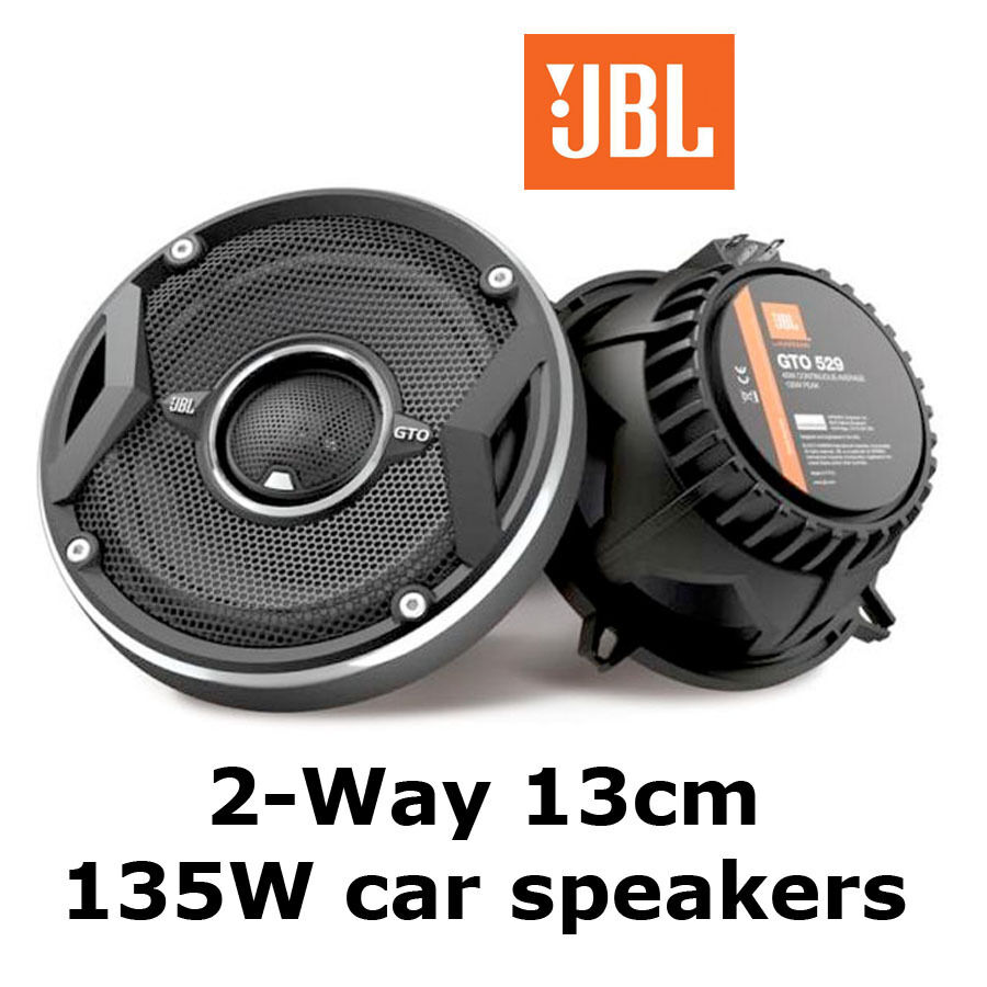 jbl 13cm 2 way 135w car radio front rear door dash coaxial