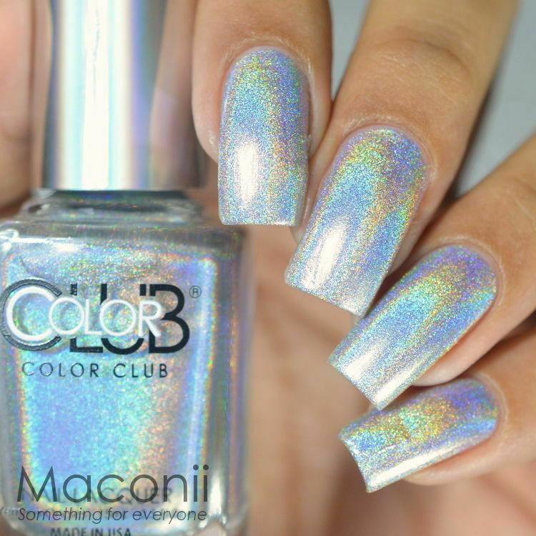 Halo Hues Silver Holographic