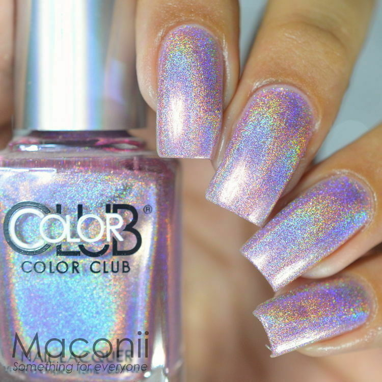 Halo Hues Pink Holographic
