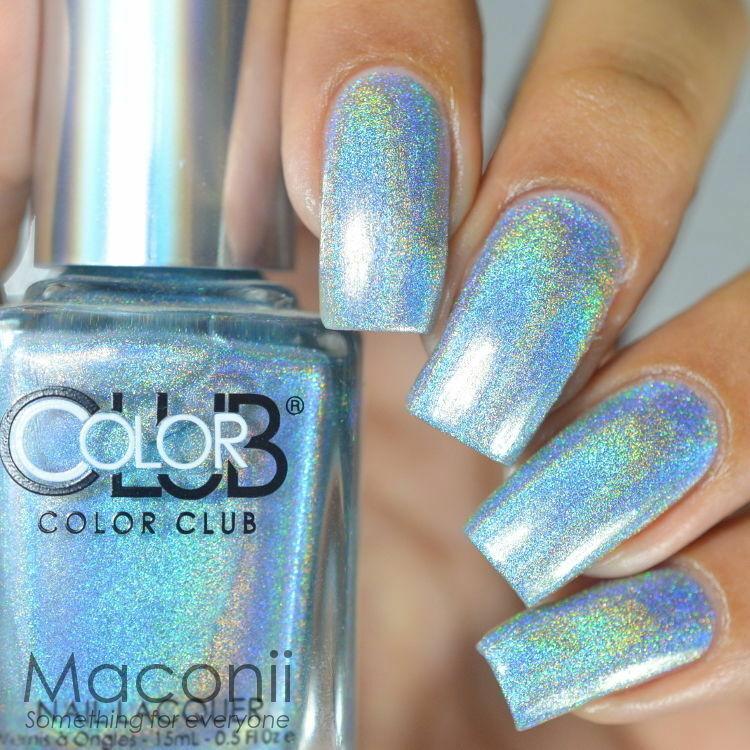 Who Sells Color Club Nail Polish: Halo Hues Light Blue
