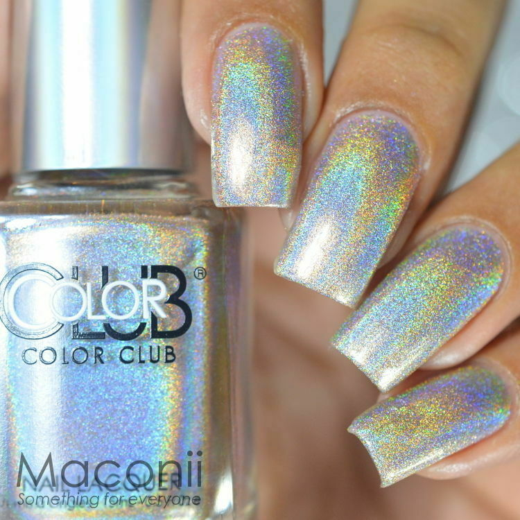 Who Sells Color Club Nail Polish: Halo Hues Tan Nude Holographic