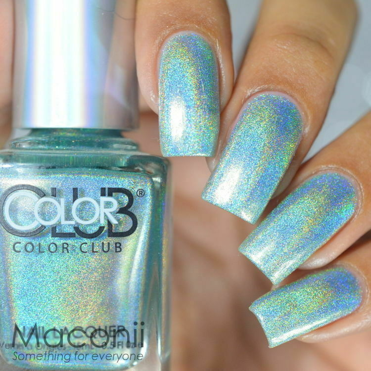 Color Club - Angel Kiss - Halo Hues Light Green Holographic Holo ...