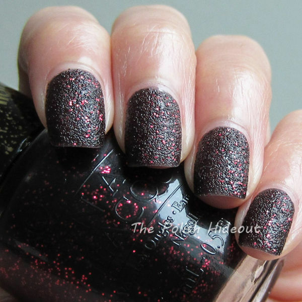 Black Nail Polish Ebay: M45 Mariah Carey Black Red Glitter