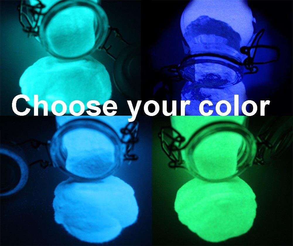 Glow in the dark pigment powder suitable for casting for Glow in the dark resin