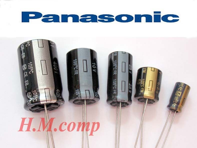 Panasonic Electrolytic Radial Capacitors High Quality