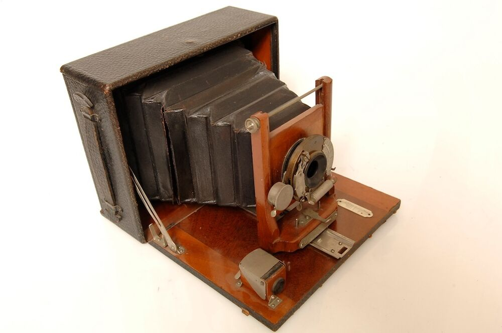 Manhattan optical co wizard cycle a 4x5 plate camera ebay for Chambre 4x5 folding