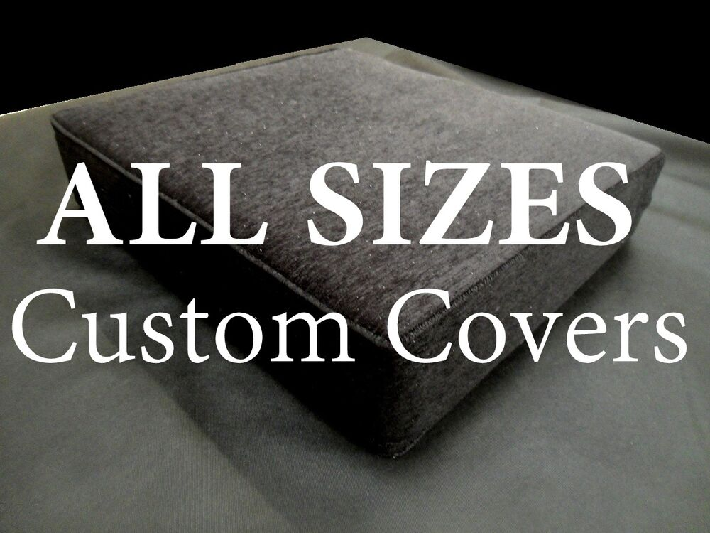 Foam Cushion Replacement Sofa Seat COVER ONLY All Sizes