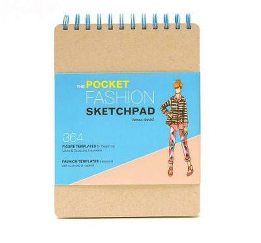 The pocket fashion sketchpad 380 figure templates for for Sketchpad com