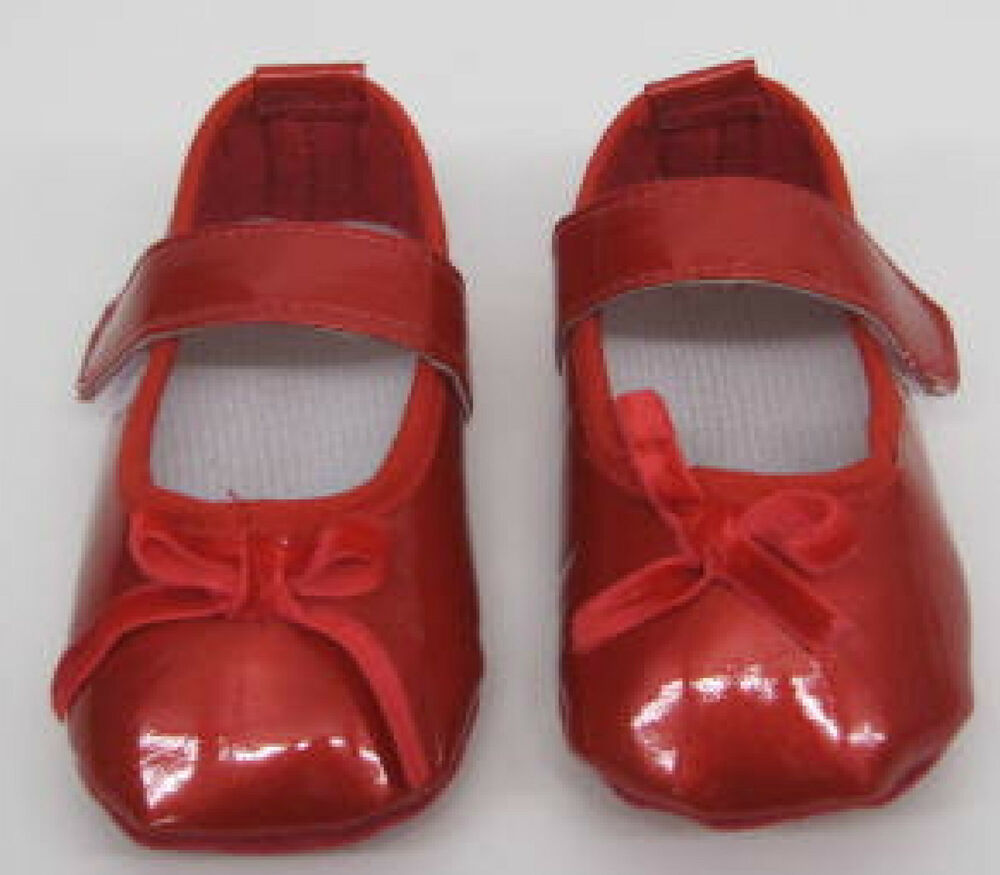 Baby Girls Red Patent Leather First Shoes Pram Pretty