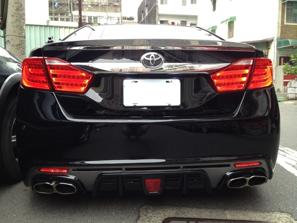 MIT TOYOTA CAMRY AURION 2012 - up LED tail lamp BMW style RED | eBay