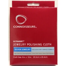 Silver Jewelry Polishing Cloth Connoisseurs 8