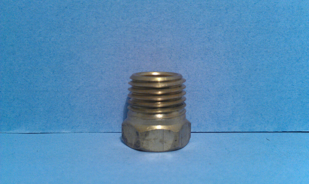 Brass adapter bushing pipe reducer fnpt with mnpt
