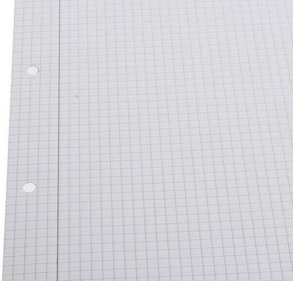 writing on graph paper