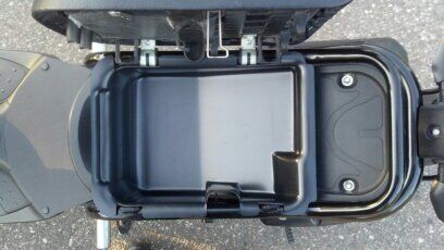 Honda Ruckus Under Seat Storage Container Cargo Bin Lowered Drop Seat Tray Ebay