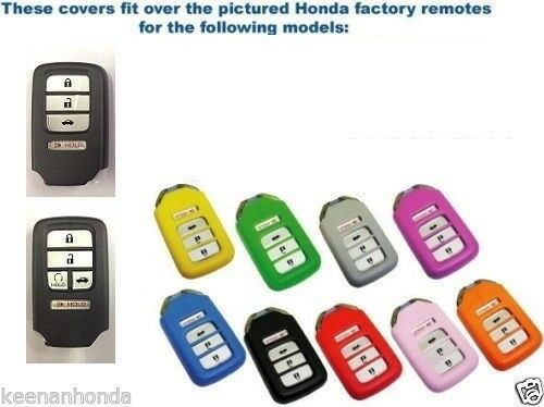 silicone rubber honda accord with smart key remote cover. Black Bedroom Furniture Sets. Home Design Ideas