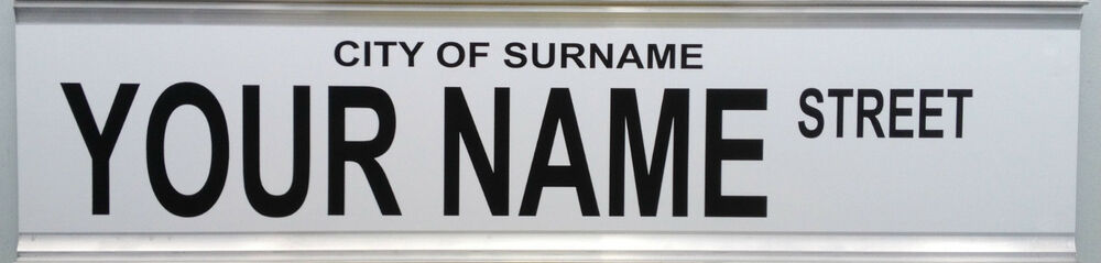 Street Sign Create Your Own Perfect For Pool Room Man