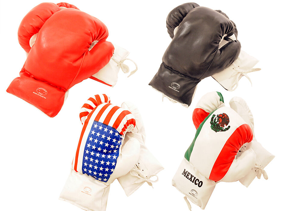 Pair Of 4oz Boxing Gloves For 3 To 6 Year Old Kids, 4