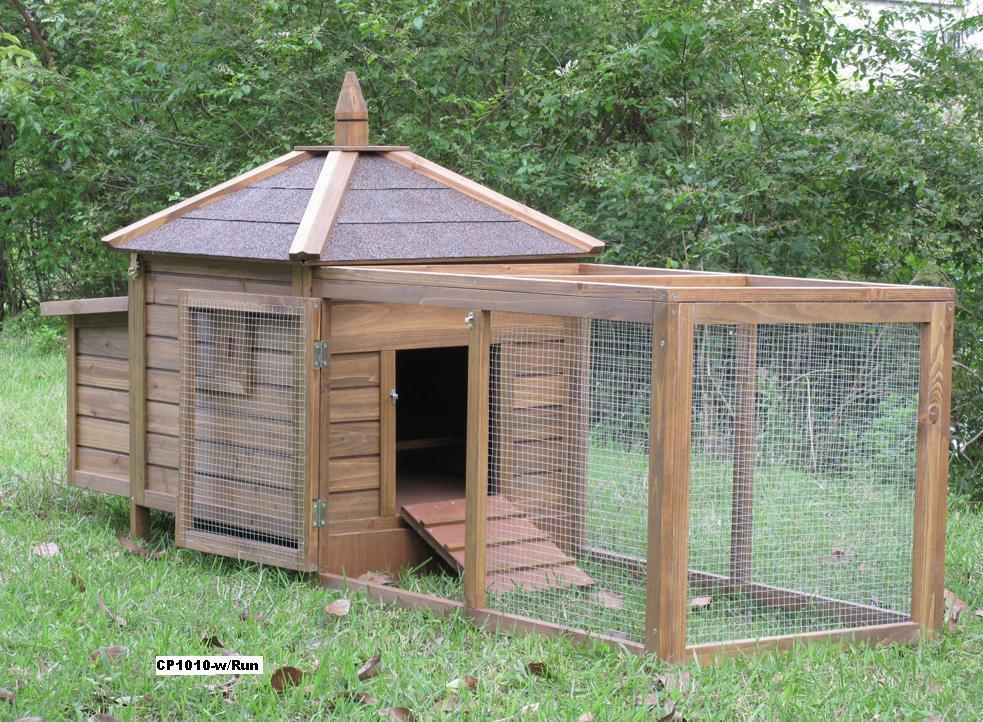 Chicken coop w run nest box hen baby chick duck house for Duck houses and runs