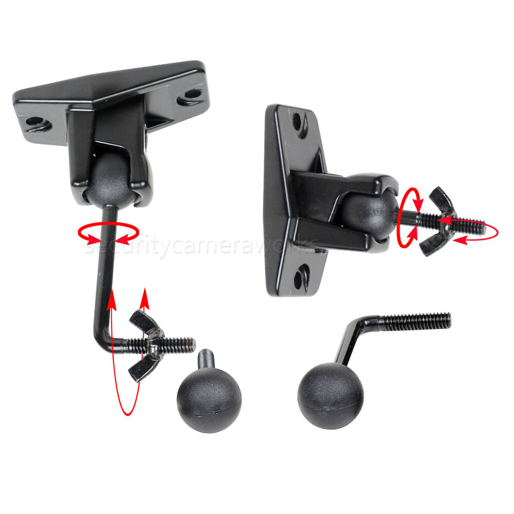 Universal Wall Ceiling Satellite Speaker Mount Bracket 2
