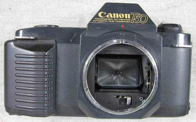 Vintage Canon T50 Japan SLR 35mm Camera Body Needs a ...