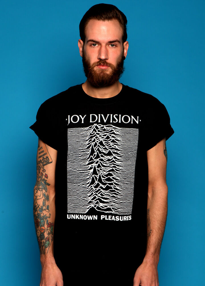 joy division unknown pleasures t shirt vtg punk black ian. Black Bedroom Furniture Sets. Home Design Ideas