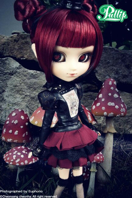 Pullip Dolls Lunatic Queen Anime Fashion Doll Alice In ...
