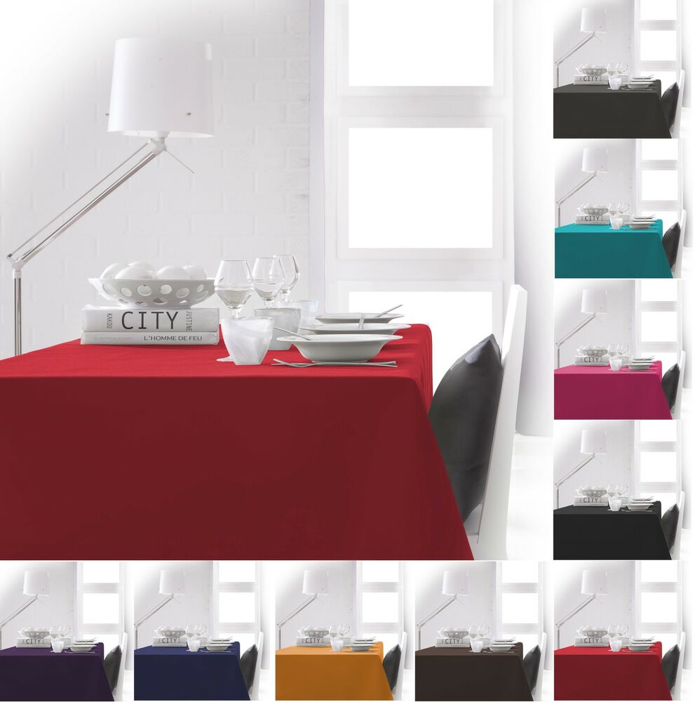 Round Rectangular Amp Extra Large Fabric Linen Tablecloth