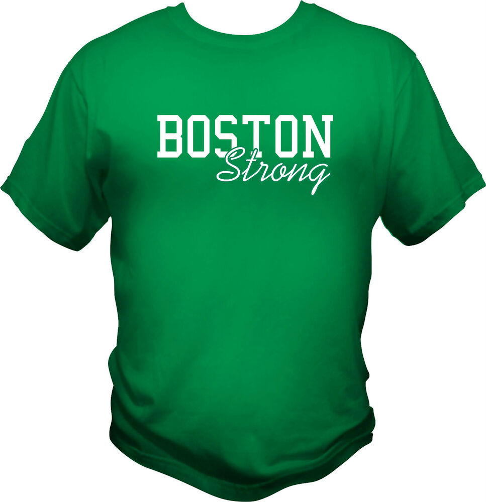 Boston strong t shirt marathon 2013 celtics charity for Sell t shirts for charity