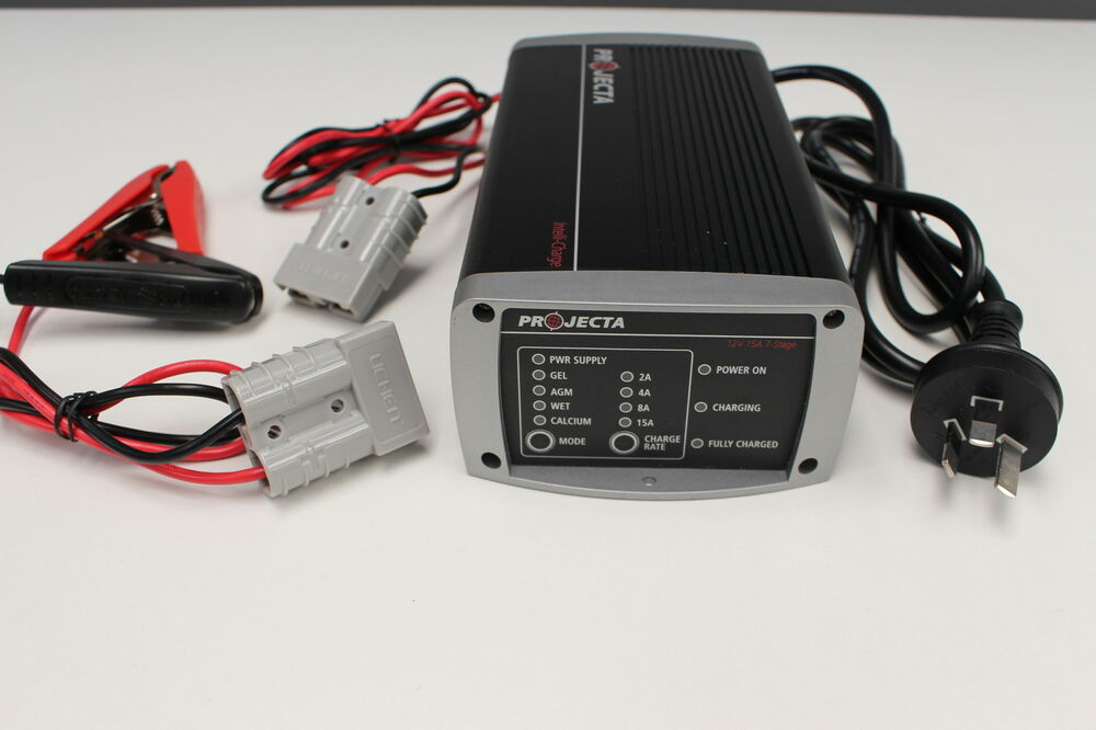 ic1000 projecta battery charger 10 amp with anderson plug to charge battery pack ebay. Black Bedroom Furniture Sets. Home Design Ideas