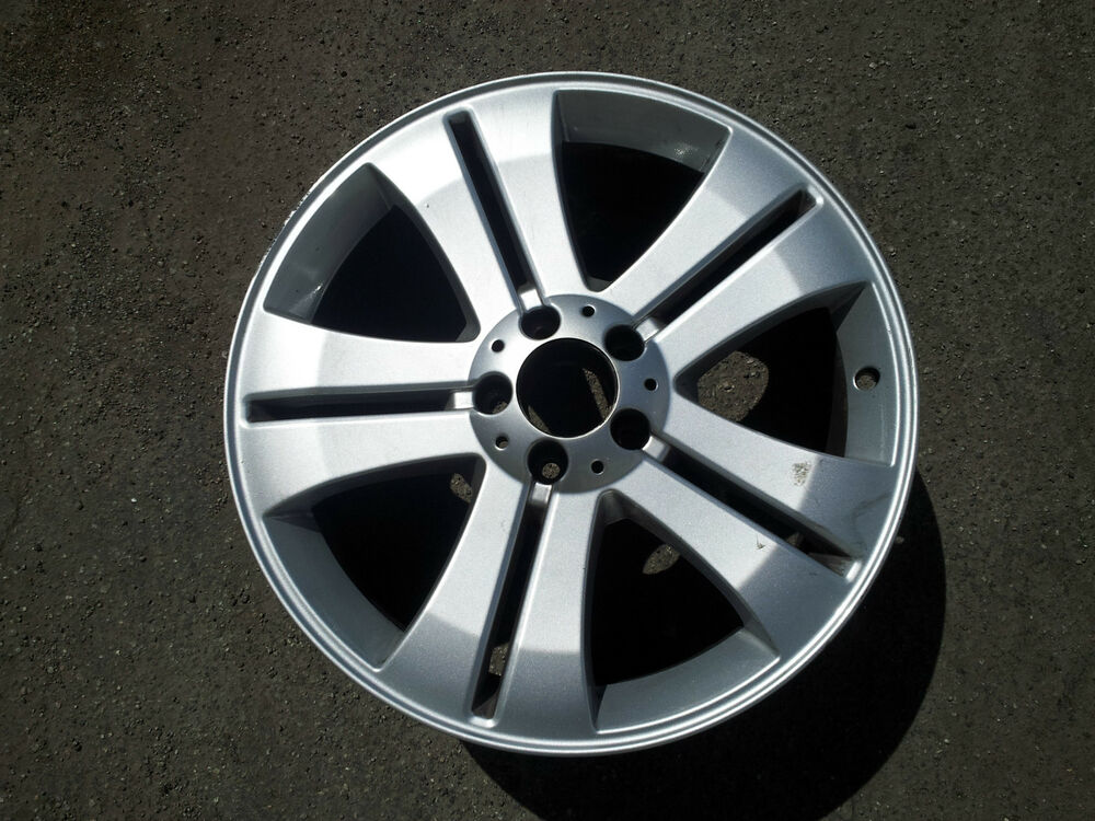 Set Of 4 2009 O E Mbz Gl450 19 Quot Alloy Wheels Silver 164 401 2102 Ebay