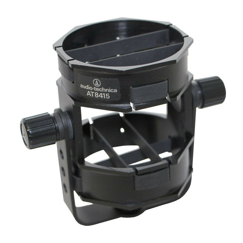 audio technica at8415 universal microphone shock mount for boompole mic stand ebay. Black Bedroom Furniture Sets. Home Design Ideas