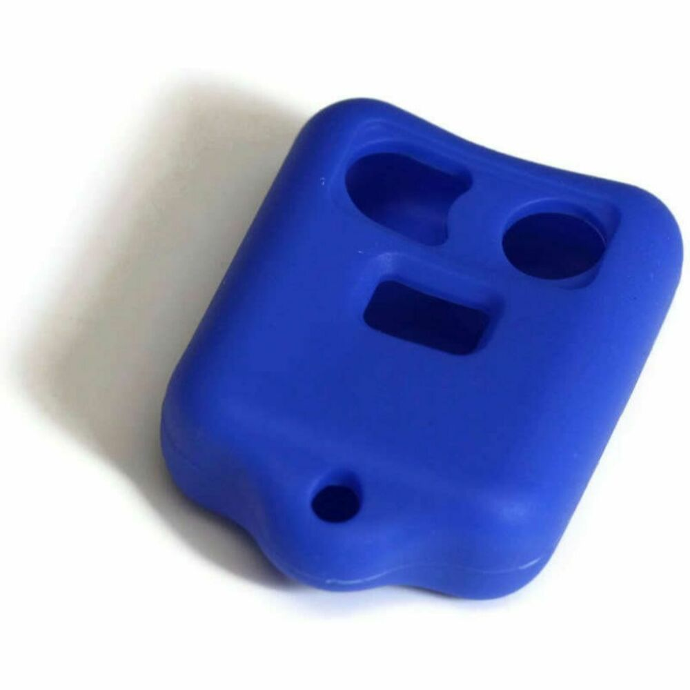 BLUE Ford 3 button Key Fob Cover Jacket Silicon Protection ...