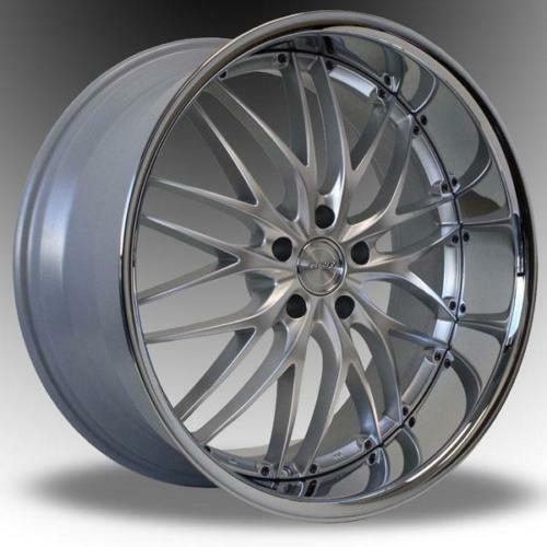 Buy 3 Get 1 Free Tires >> MRR GT1 WHEELS 2PC 22X9 +20 22X10.5 +24 5X120 SILVER WITH ...