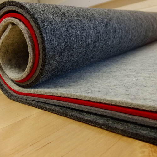 3mm 4mm Thick Pressed 100 Wool Felt 60cm Wide Per 0 5
