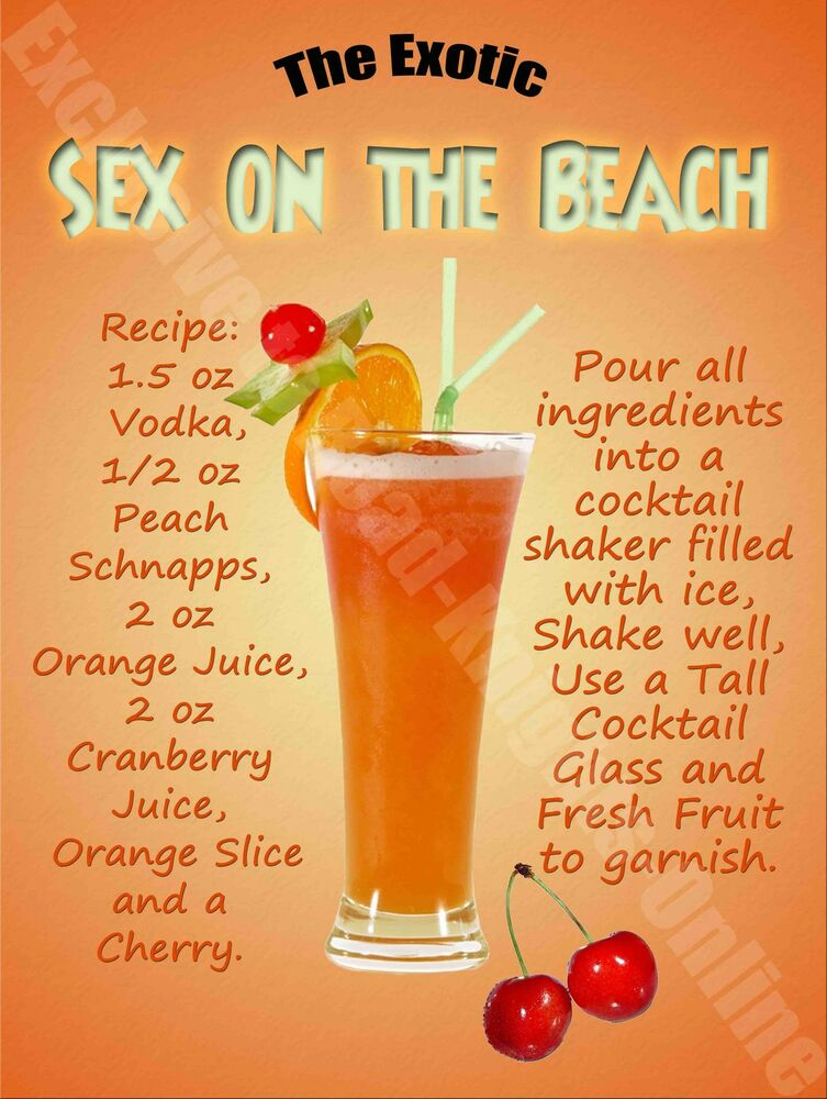 Free sex pics sex on the beach drink