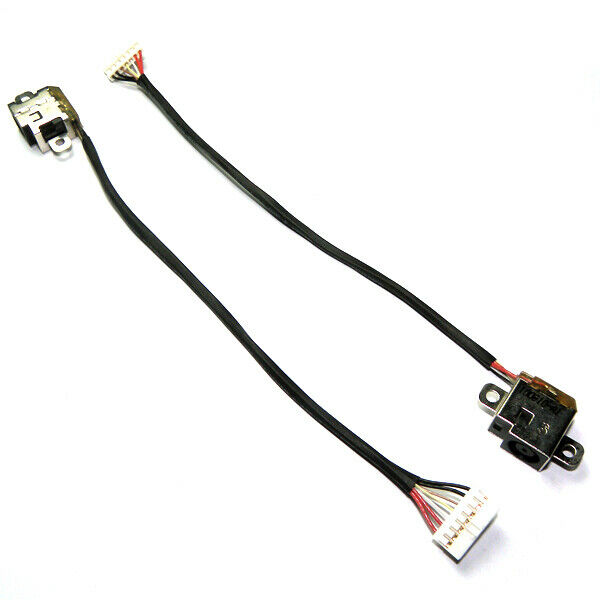 dc in power jack with cable harness hp pavilion dv6