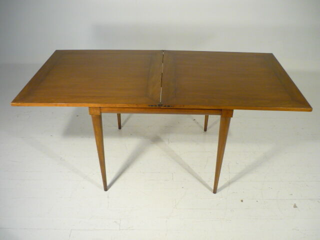 mid 20th century 50 39 s modern gibbings widdicomb flip top dining game table ebay. Black Bedroom Furniture Sets. Home Design Ideas