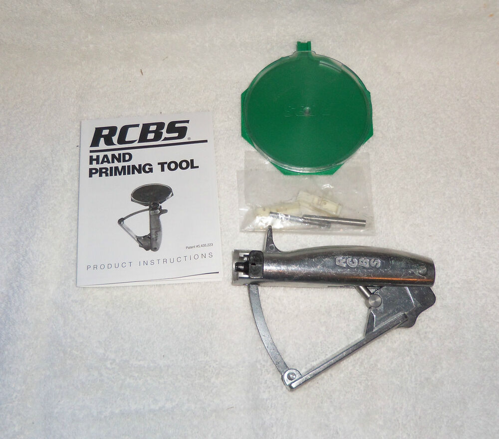 rcbs hand priming tool instructions