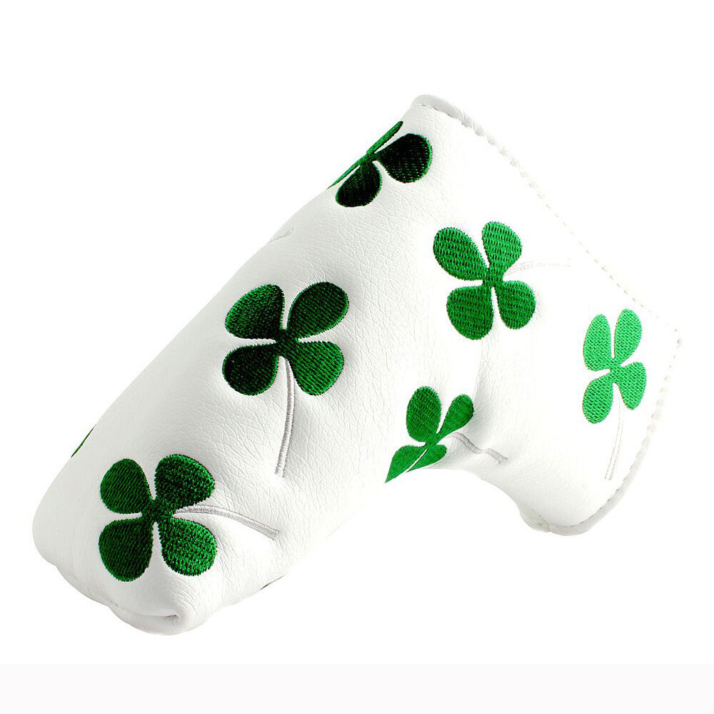 new shamrock clover golf putter club cover headcover for scotty