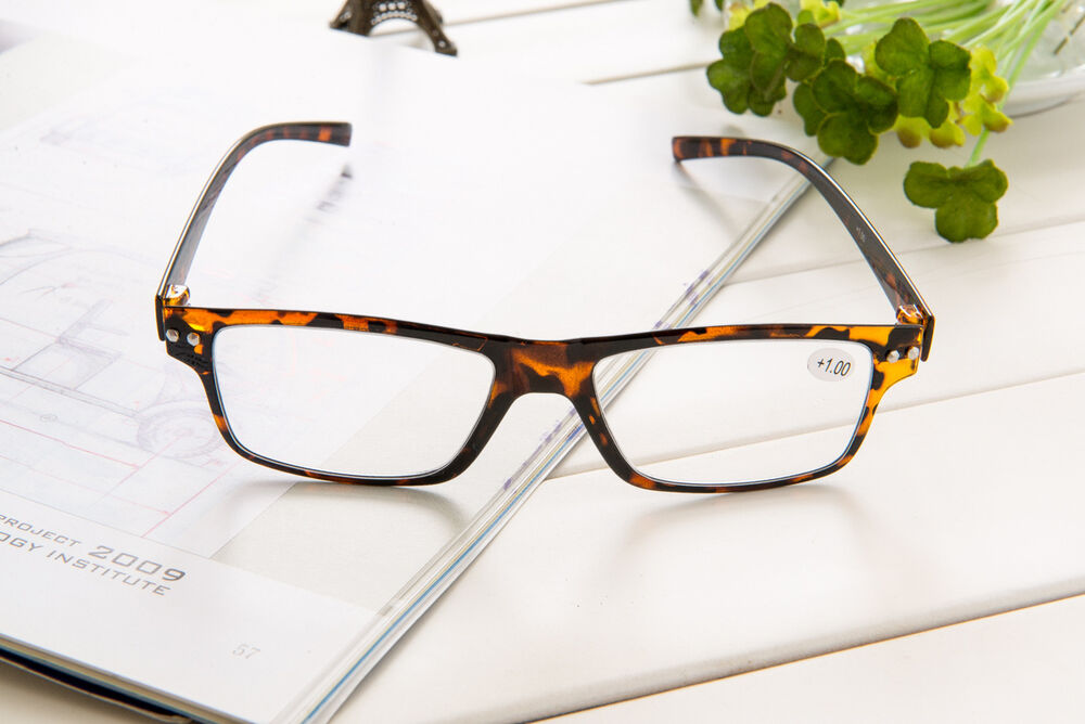 Tortoise Super Light Weight Thin PC Frame Reading Glasses ...