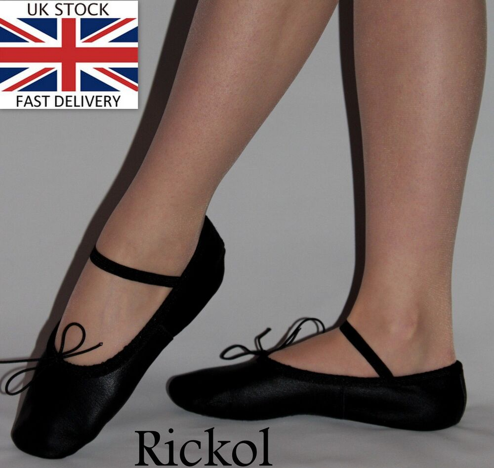 Leather Toe Ballet Dancing Shoes