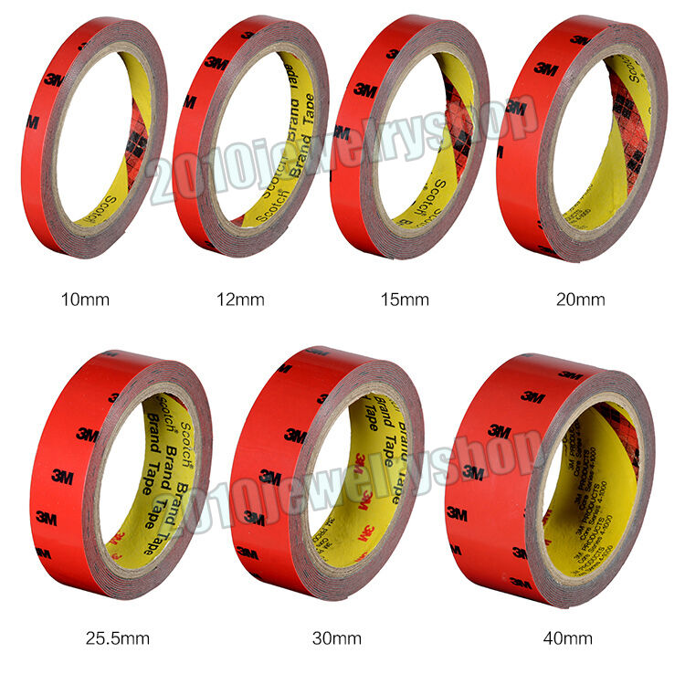 3m for auto truck car double sided acrylic foam adhesive automotive tape ebay. Black Bedroom Furniture Sets. Home Design Ideas