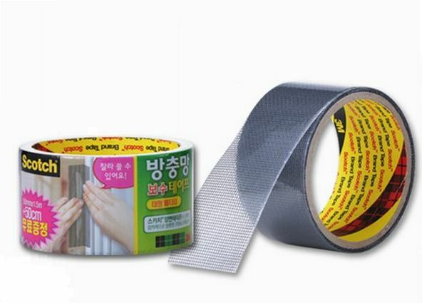 3m Scotch Insect Mosquito Screen Net Repair Tape Patch 50